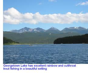 Georgetown lake in southwest montana fly fishing for Lake georgetown fishing