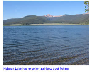 Hebgen lake in southern montana fly fishing information for Hebgen lake fishing report