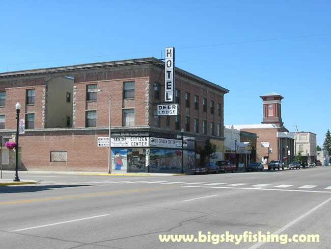 Pictures Of Deer Lodge An Old Hotel Downtown