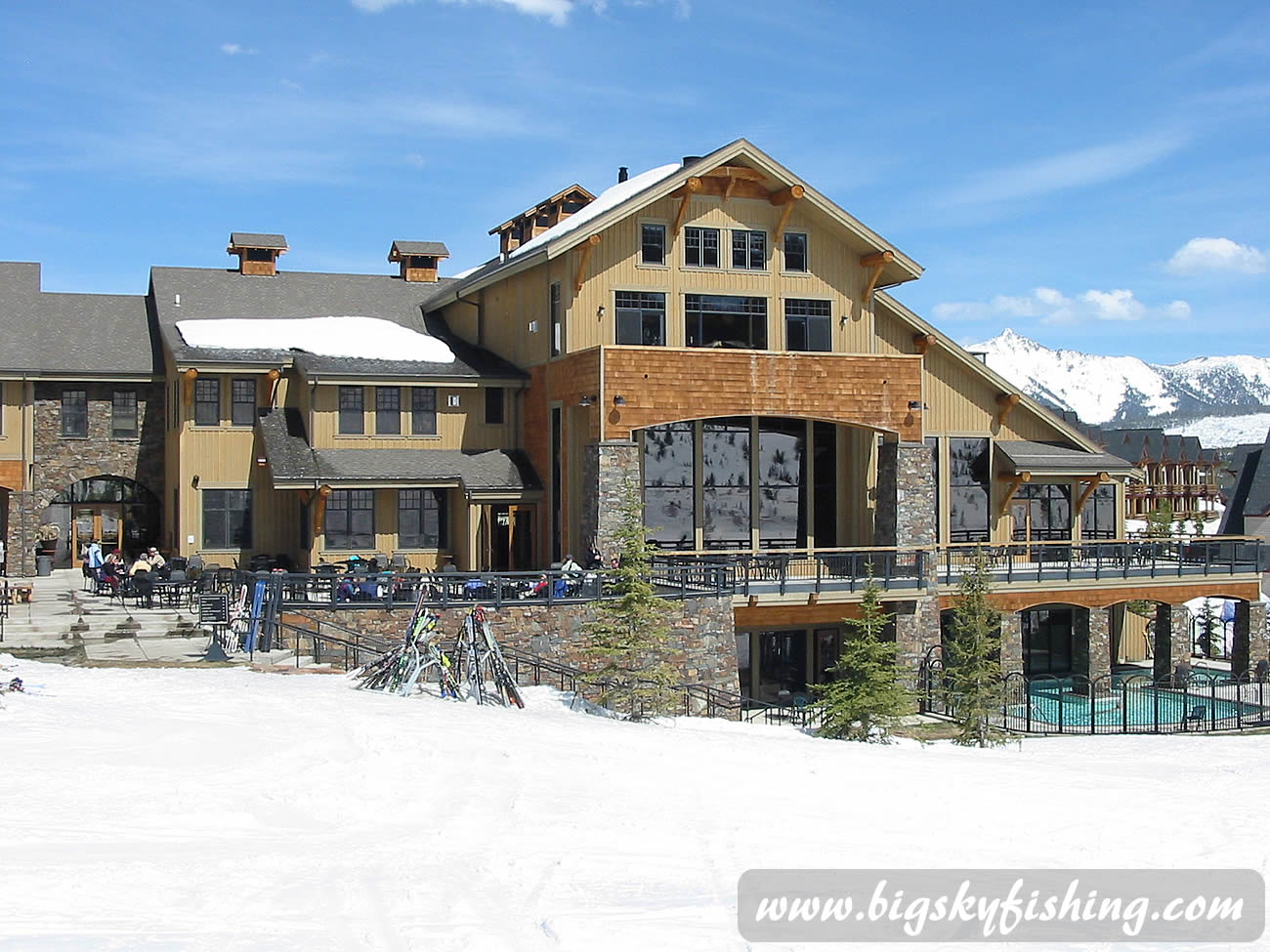 Big sky montana vacations alltrips rachael edwards for Big sky cabin rentals