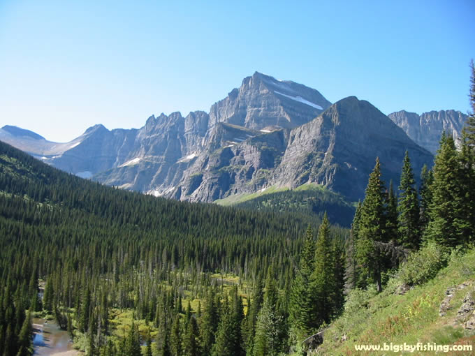 mount gould behind grinnell - photo #20