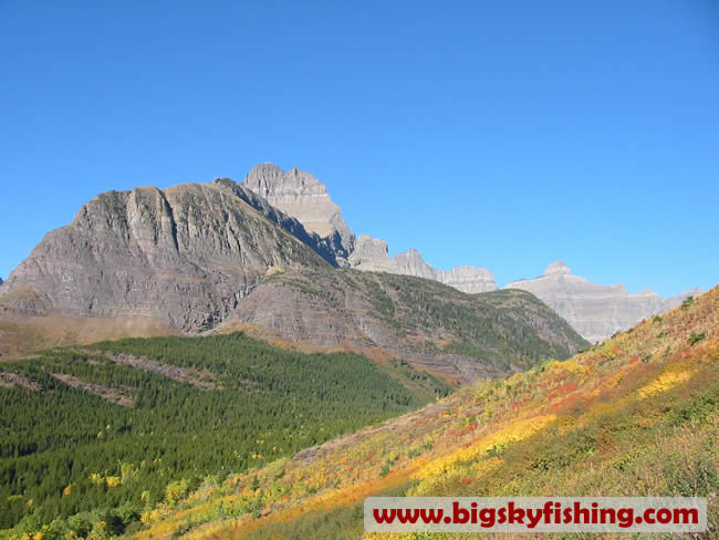 Photographs of the Iceberg Lake Trail in Glacier National