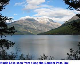 Backpacking Glacier National Park >> Kintla Lake in Glacier National Park : Fishing, Camping and Photographs
