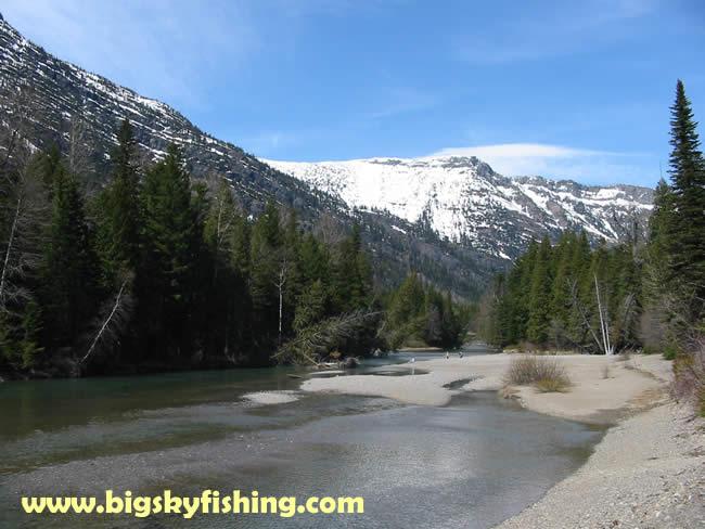 Glacier national park pictures upper mcdonald creek for Fishing in glacier national park