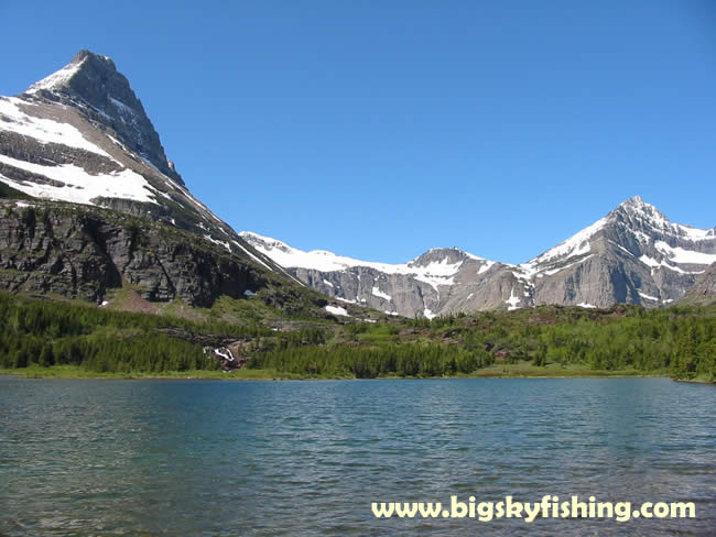 Photographs of the swiftcurrent pass hiking trail in for Fishing in glacier national park