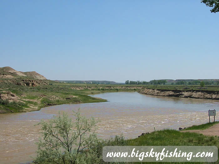 The Milk River In Montana Fishing Floating Information