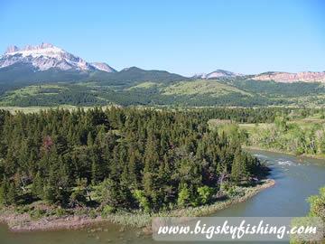 sun river montana map The Sun River In Montana Fishing Floating Information