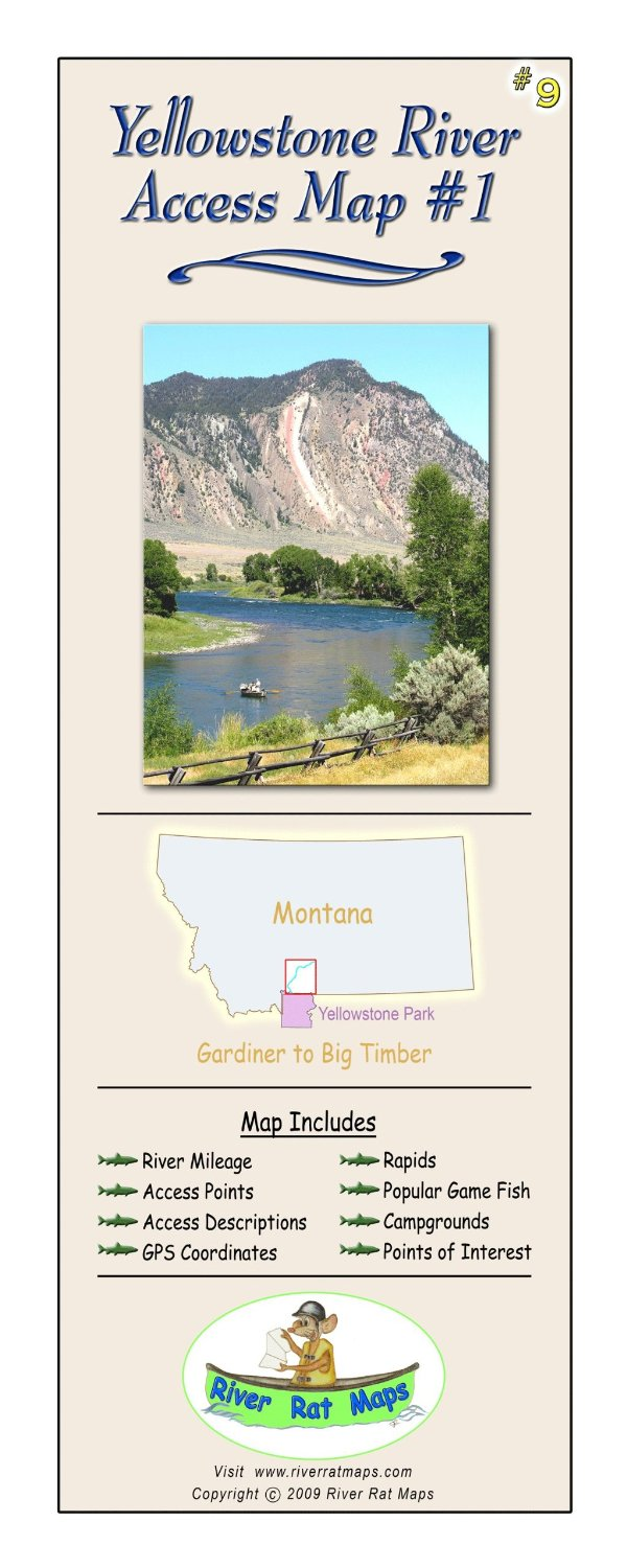 Montana River Maps Detailed Maps By Montana Afloat More - Montana rivers map