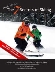 The 7 Secrets of Skiing: A Proven Route to Advanced/Expert Skiing