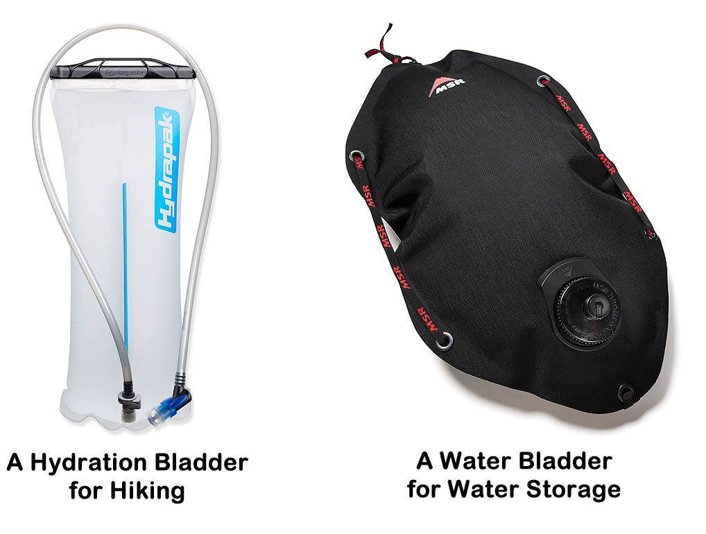 Buyer's Guide to Hydration Bladders for Day Hiking & Backpacking