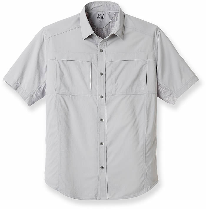 Hiking shirts how to stay cool dry comfortable while for Rei fishing gear