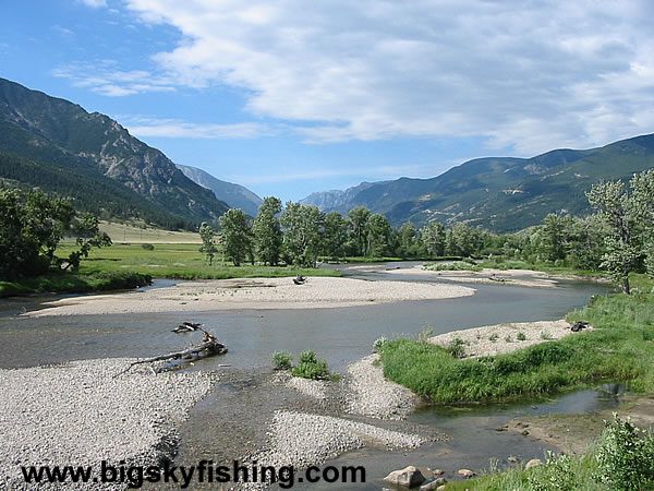 The Stillwater River Near Nye, Montana