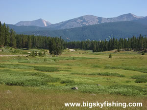 The Pioneer Mountains Scenic Byway in Southwest Montana