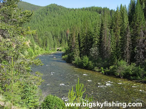 The St Joe River Scenic Byway In Idaho Montana Information