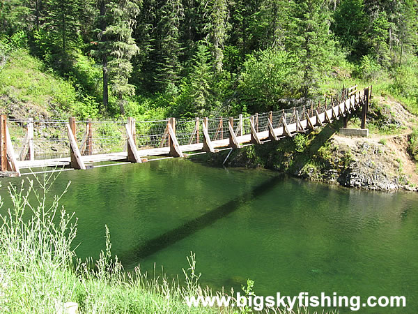 Physical map of the lakes and rivers in idaho idaho for St joseph river fishing