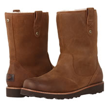Ugg Stoneman Boot - For men, this boot bears a passing resemblence to low-cut cowboy boots. But provides great traction and excellent warmth. Easy to clean.