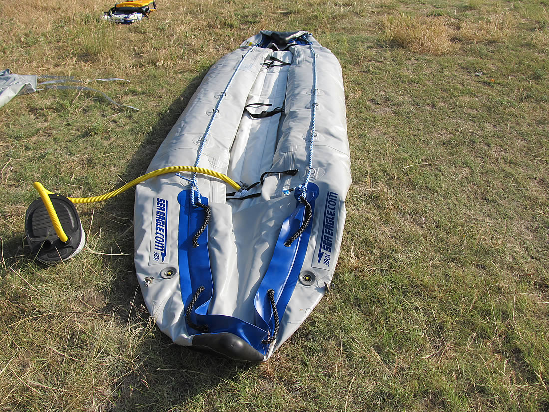 How to setup the sea eagle explorer 380x inflatable kayak for Another word for ocean floor