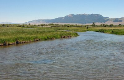 Beaverhead River in Southwest Montana