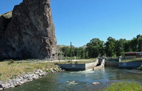 Barrett's Dam on the Beaverhead River
