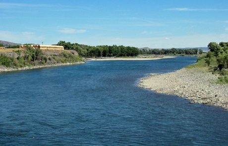 Yellowstone River near Big Timber