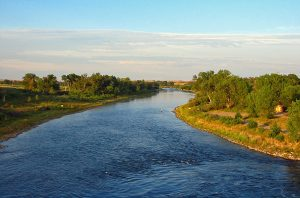 The Bighorn River in Montana