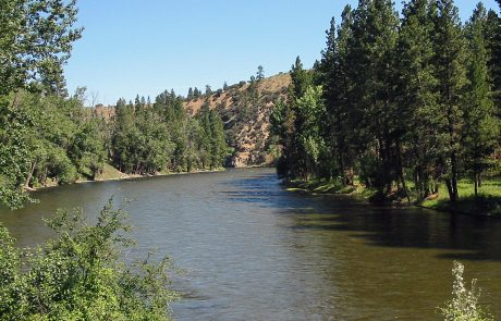 The Bitterroot River in Montana