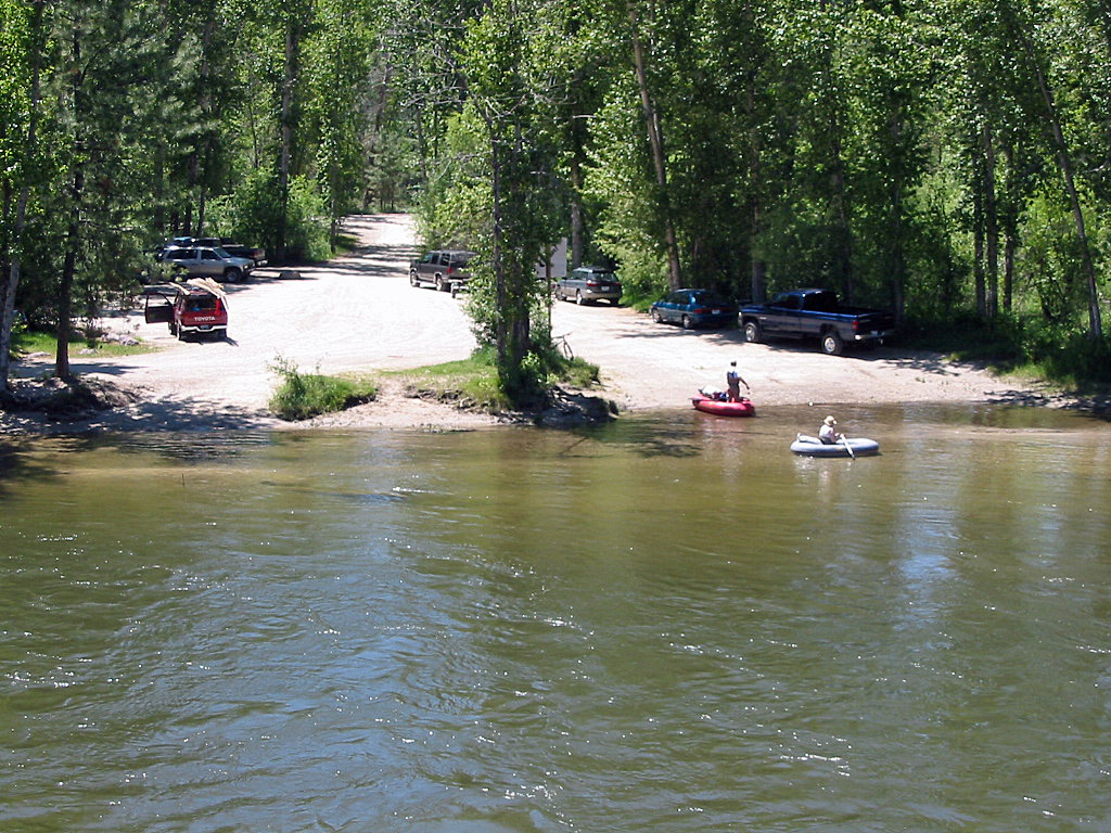 The bitterroot river in montana detailed fly fishing for Bitterroot river fishing report