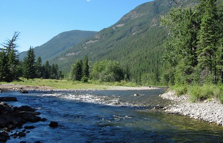 Mountains Line the Boulder River