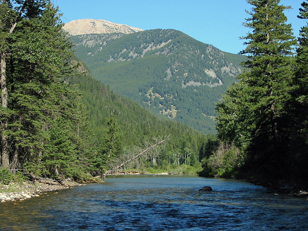 The Boulder River in Montana : Fly Fishing Information