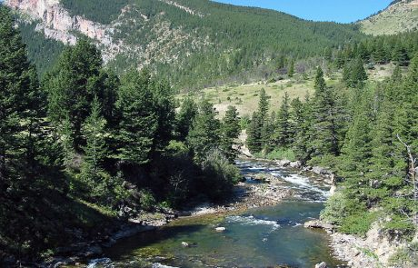 Boulder River Upstream from Natural Bridge State Park
