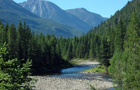 Boulder River and Mountains