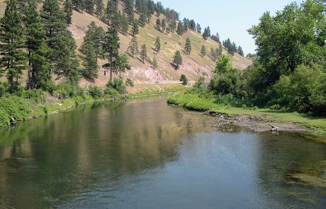 The Clark Fork in Montana