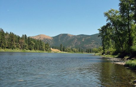 Lower Clark Fork at Patty Creek Fishing Access Site