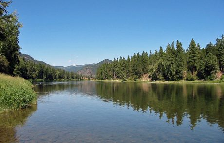 The Lower Clark Fork in Montana