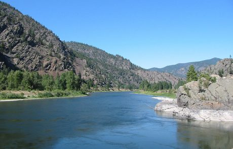 Lower Clark Fork Beneath St. Regis, Montana
