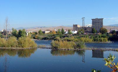 Clark Fork as it Passes Through Missoula, Montana
