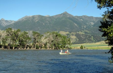 Fishing on the Yellowstone River at Mallard's Rest