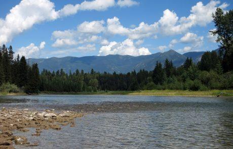 The Flathead River in Montana