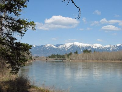 The Flathead River in Montana