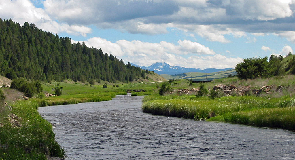 Flint Creek in Montana