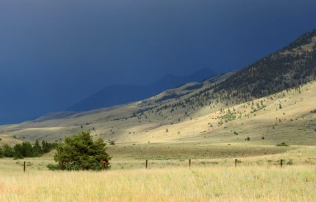 Thunderstorm in the Paradise Valley of Montana