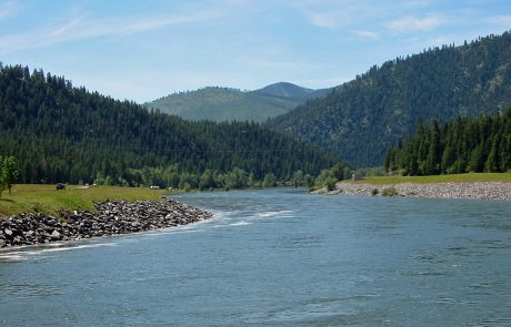 Kootenai River in Montana