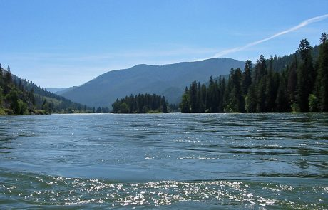 Kootenai River in Northwest Montana