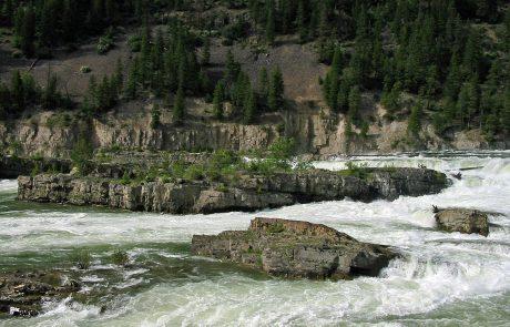Kootenai Falls in Montana