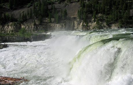 Kootenai Falls on the Kootenai River