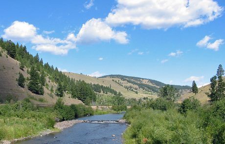 Little Blackfoot River in Montana