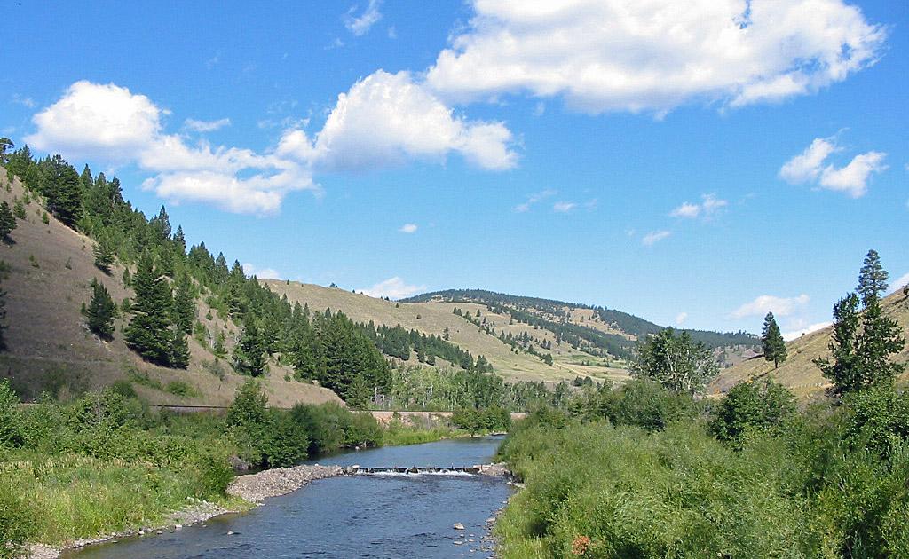 Little Blackfoot River in Montana
