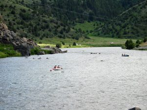 Recreational Floaters on the Madison River