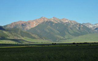 The Scenic Madison Valley in Montana