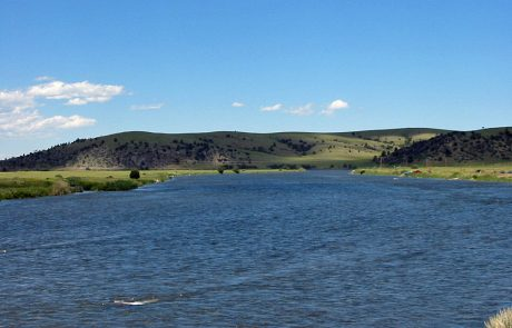 Open Plains Define Much of the Madison River